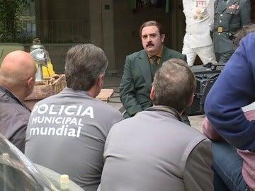 Imagen del rodaje de 'Tiempo después'