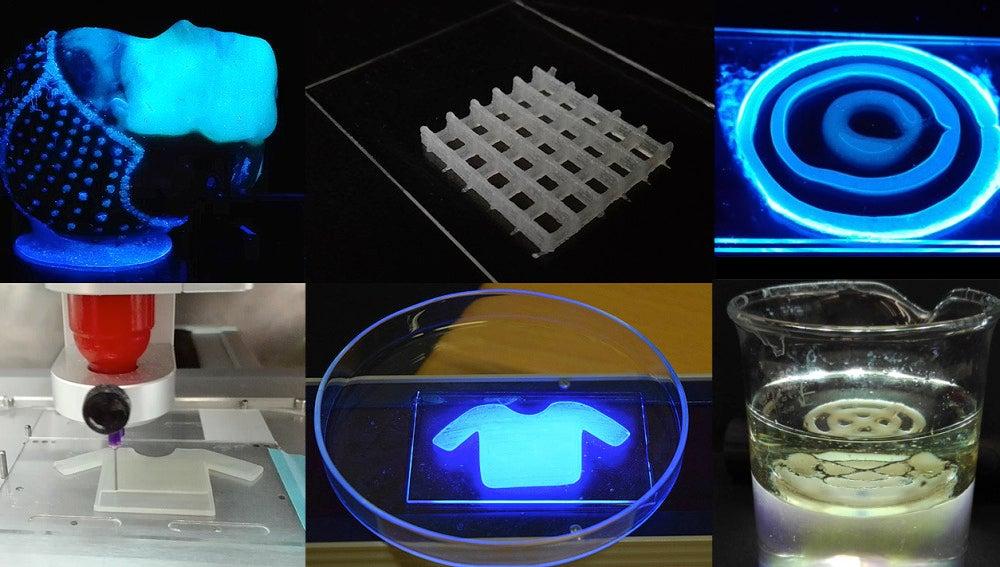 Tintas con bacterias para imprimir materiales vivos