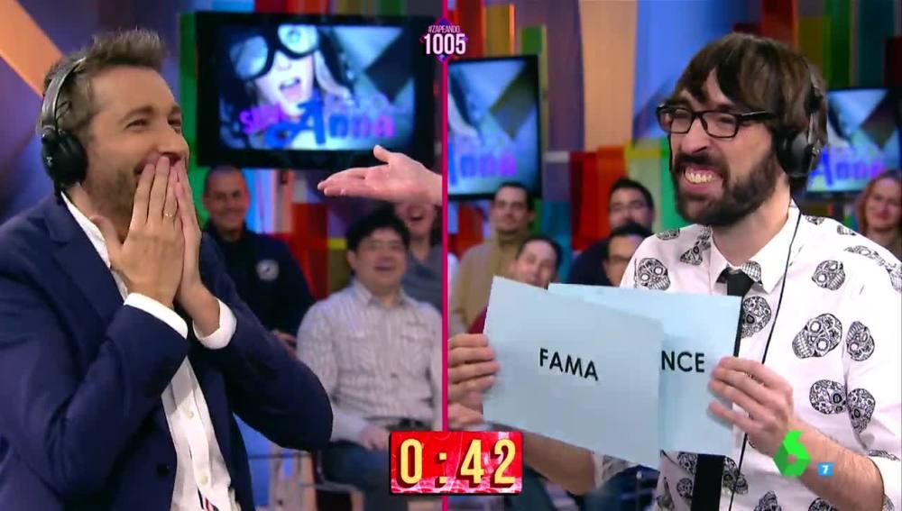 la sexta tv | quique peinado rompe a reír al escuchar a frank