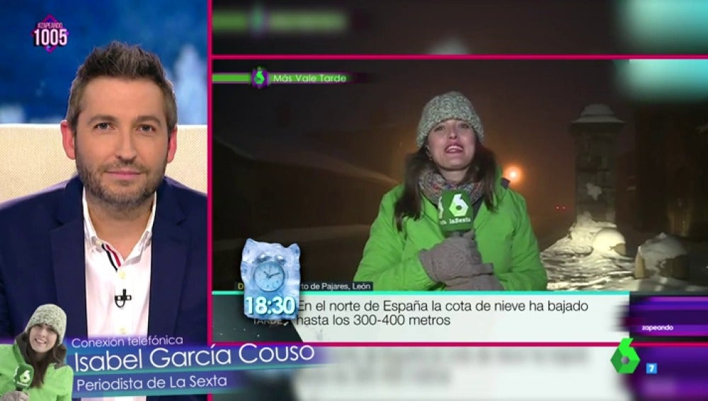 Frank Blanco entrevista a Isabel García Couso