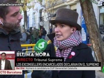 """Bel Olid: """"Huele a quemado que digan que no son presos políticos y exijan declaraciones políticas para dejarles en libertad"""""""