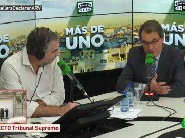 """Artur Mas: """"Entiendo que en su línea de defensa digan lo que tengan que decir para salir de la cárcel"""""""