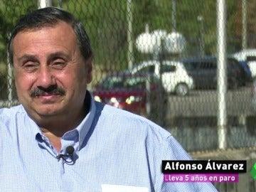 Alfonso, el rostro más duro de la crisis: tiene tres hijos y paga a su exmujer 300 euros al mes pero solo cobra un subsidio de 287