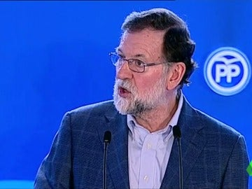 """Mariano Rajoy: """"El cuento del independentismo nadie lo apoya. El procés se ha acabado y ha acabado mal"""""""