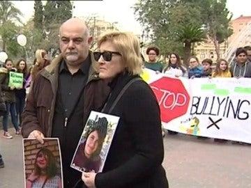 Foto de los padres de Lucía