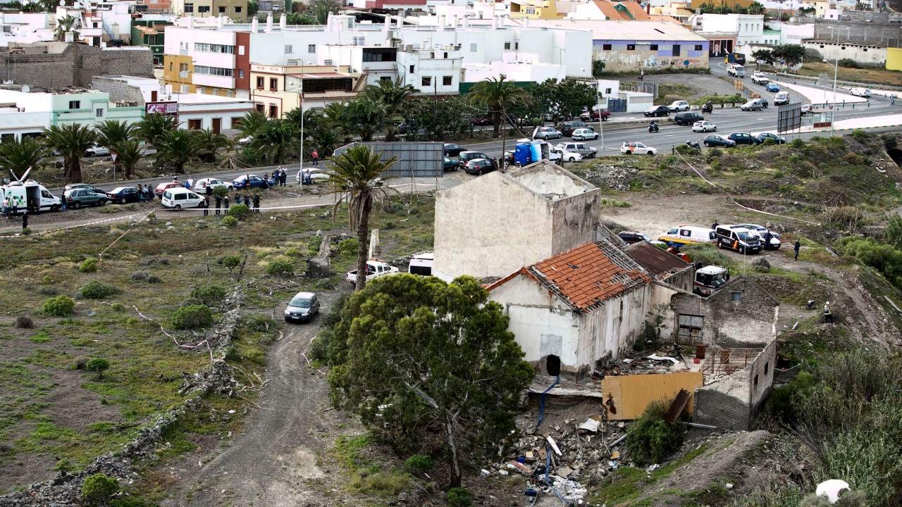 Vivienda de Jinámar donde fue encontrado el cadáver de una anciana 11 días después de morir