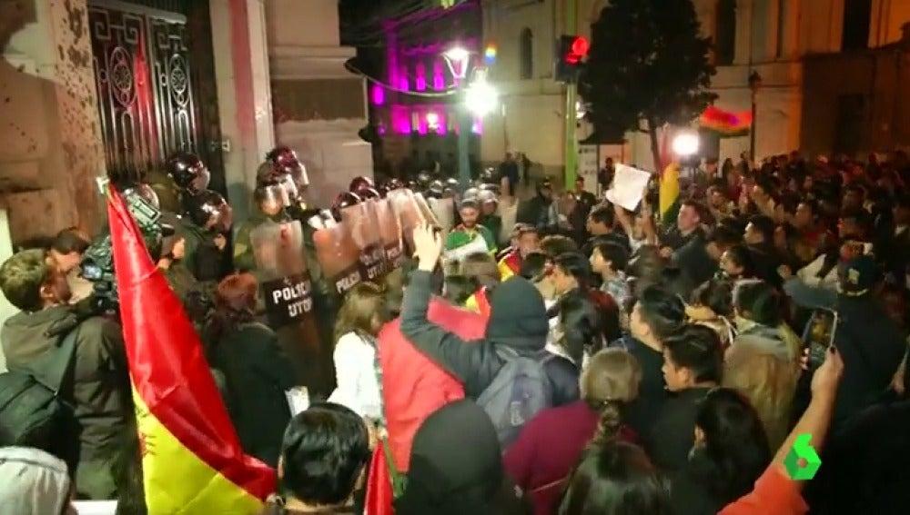 Protestas en Bolivia por la decisión del tribunal constitucional