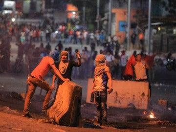 Simpatizantes de la Alianza se manifiestan en Tegucigalpa (Honduras