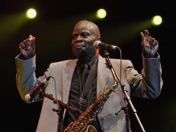 El saxofonista Maceo Parker