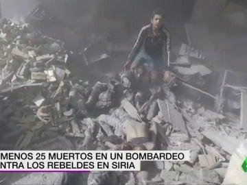Al menos 25 muertos en un bombardeo en Siria