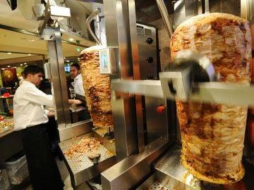 Un restaurante de Kebab