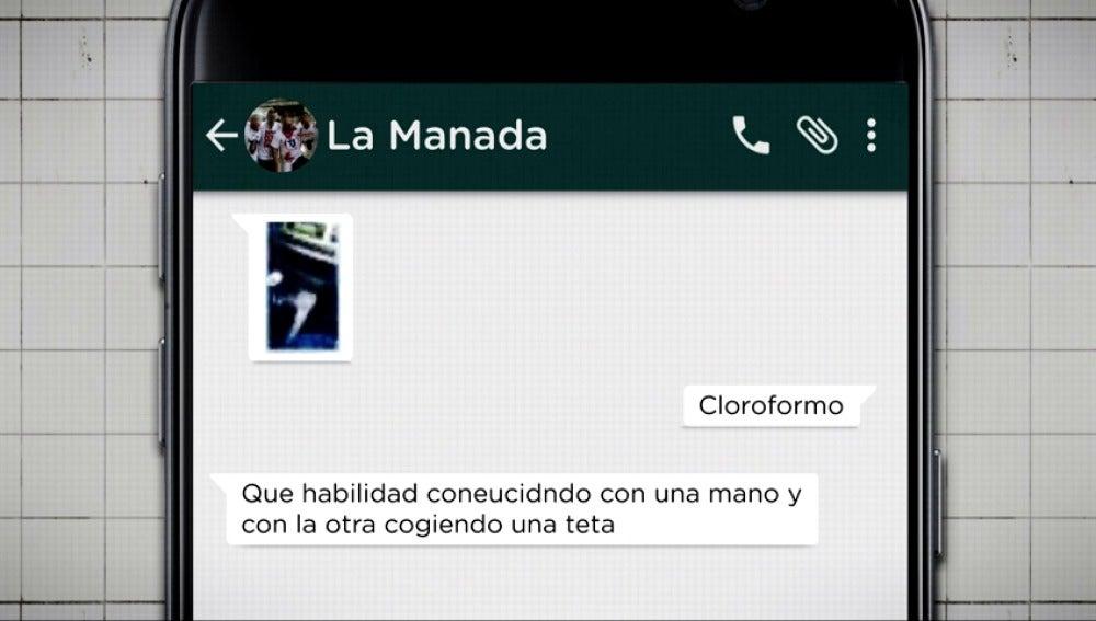 'La Manada' compartió los vídeos en varios grupos de WhatsApp, su admisión como prueba es la clave de la sentencia de Pozoblanco
