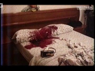 """Salen a la luz las imágenes que grabó la policía de la escena del crimen del asesino de la catana: """"Madre mía de mi vida..."""""""
