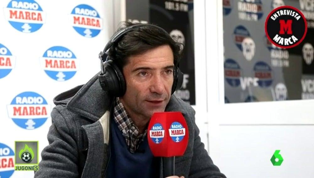 """Marcelino: """"La plantilla del Madrid es inferior a la de la temporada pasada"""""""