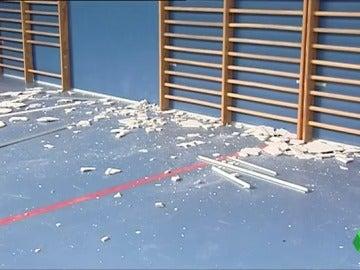 Desperfectos materiales por el terremoto en Caudete