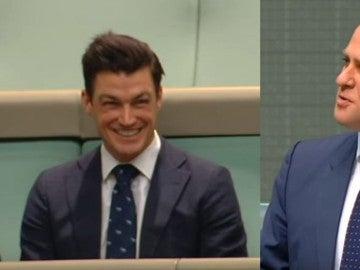 Un diputado australiano pide matrimonio a su novio en el Parlamento