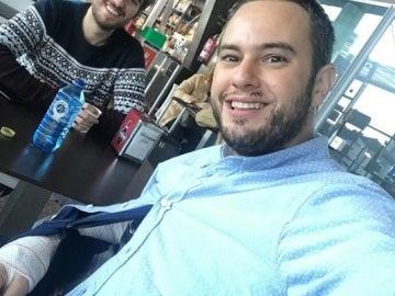 Jorge Blass se recupera tras ser atropellado por un conductor ebrio
