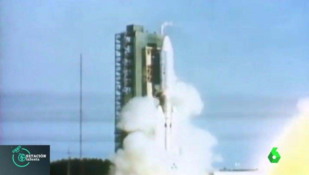 Arrancan los motores de la nave 'Voyager' 37 años después
