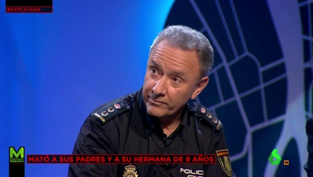 Alfonso Navarro, el comisario que interrogó al asesino de la catana