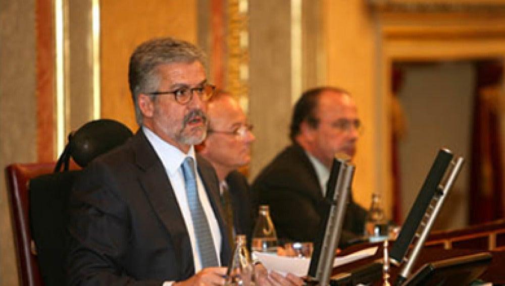 El expresidente del Congreso de los Diputados, Manuel Marín