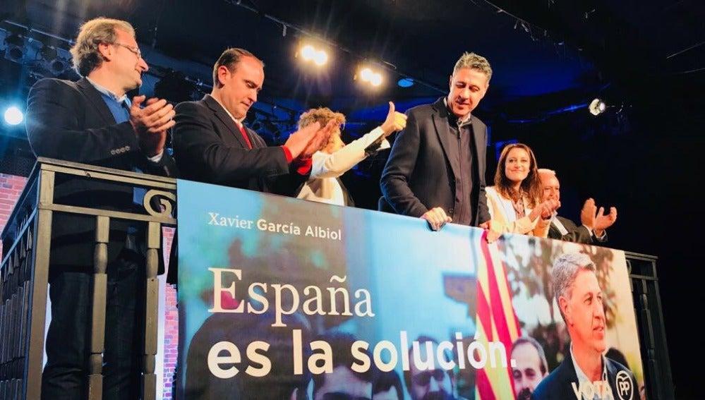 El candidato del PP a las elecciones catalanas del 21D, Xavier García Albiol