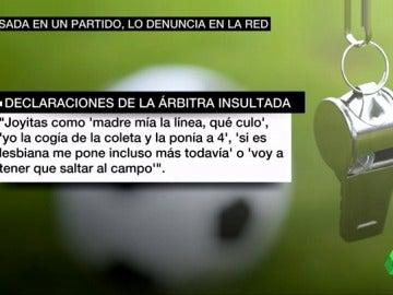 Eva Alcaide denuncia insultos machistas en un partido de juveniles