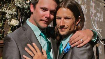 Charlie y David, la pareja que denunció a un pastelero homófobo