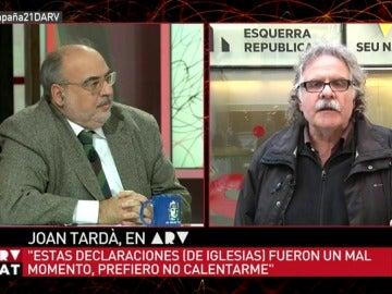 Joan Tardà en ARV