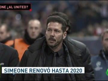 Simeone, la primera opción del United para sustituir a Mourinho