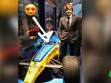 Alonso, el gran ausente en la gala de Honda