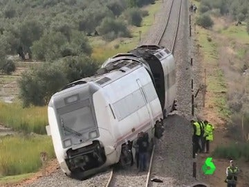 El accidente de tren ocurrido en Arahal, en Sevilla