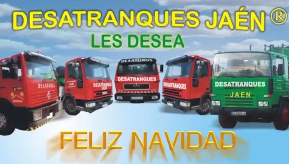 Anuncio de desatranques Jaén