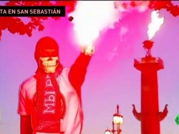 Alerta en San Sebastián por la llegada de los ultras rusos del Zenit