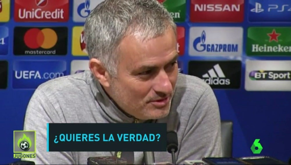 El dardo de Mourinho a Guardiola antes del derbi de Manchester
