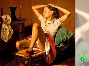 'Teresa durmiendo' de Balthus