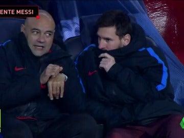Valverde volvío a sentar a Messi