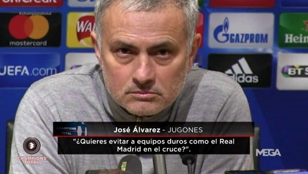 ¿Quiere Mourinho al Real Madrid como rival en octavos de Champions League?