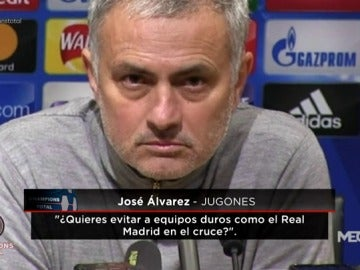 ¿Quiere Mourinho al Real Madrid como rival en octavos de Champions League?