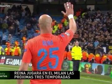 Noticias laSexta Deportes: Pepe Reina firmará por tres temporadas con el Milan