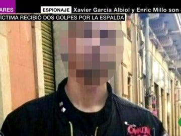 Rodrigo Lanza afirma que sólo le dio un empujón y una patada a Víctor Láinez
