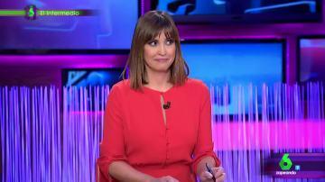 El gran susto de Sandra Sabatés en El Intermedio que han capturado las cámaras del programa