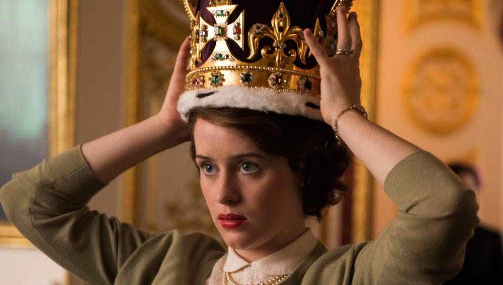 Claire Foy en 'The Crown'