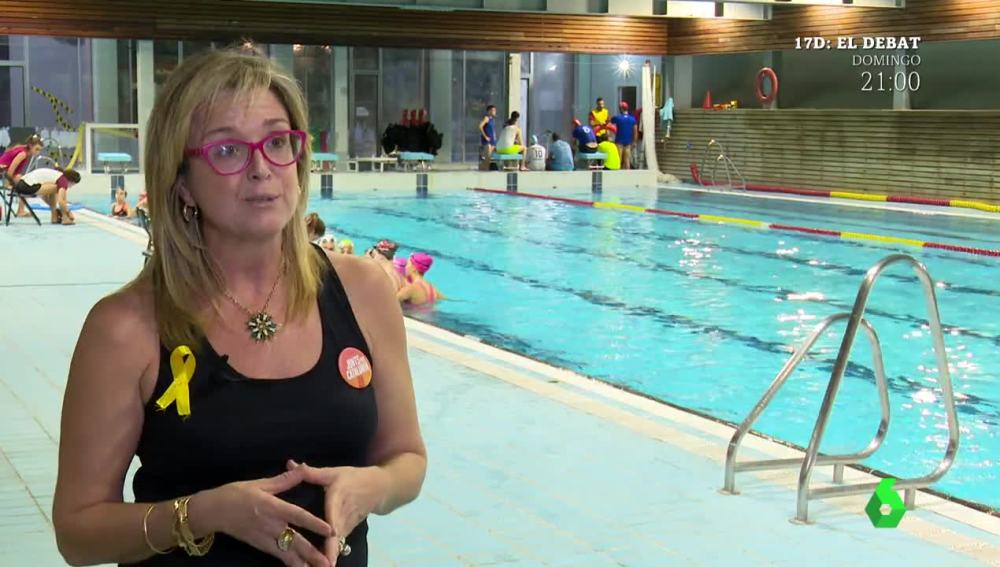 Anna Tarrés, exseleccionadora de España de natación sincronizada