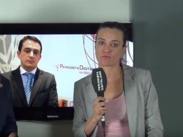 Frame del vídeo viral de Silvia Charro y Simón Pérez