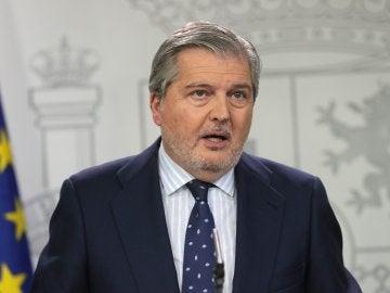 El ministro de Cultura y ministro Portavoz Iñigo Méndez de Vigo