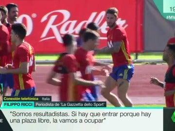 """Filippo Ricci, periodista de 'la Gazzetta dello Sport': """"No veo a España fuera del Mundial"""""""