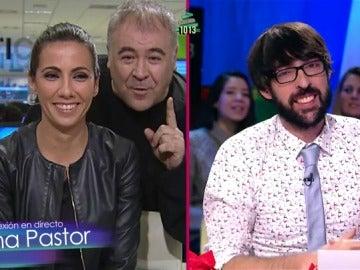 Ana Pastor, Antonio García Ferreras y Quique Peinado en Zapeando