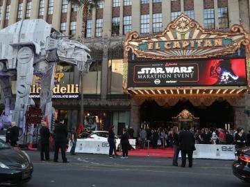 Foto del estreno en el Teatro Chino TCL de Hollywood (EE.UU.)