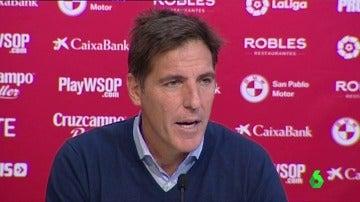 """Berizzo vuelve al banquillo del Sevilla: """"Quería que los jugadores sintieran que estoy aquí"""""""