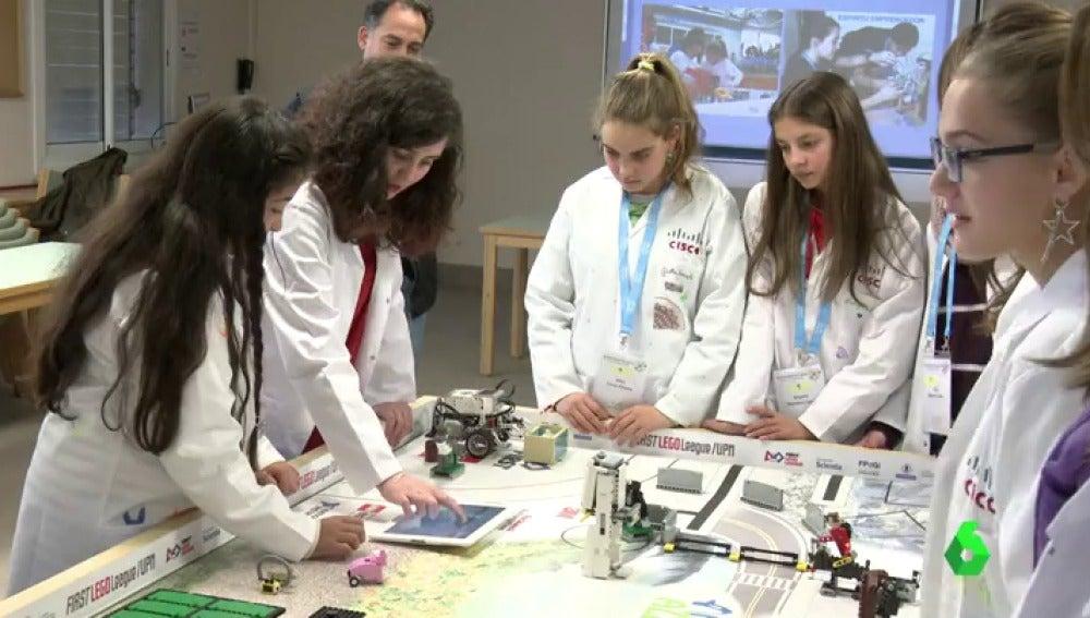 Talleres para jóvenes científicas